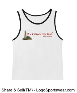 Young Mens Cotton Ringer Tank Design Zoom